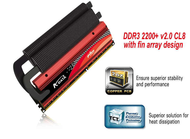 ADATA - ddr3_2200+_cl8 image