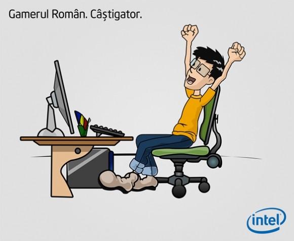 gamerul roman in viziunea Intel