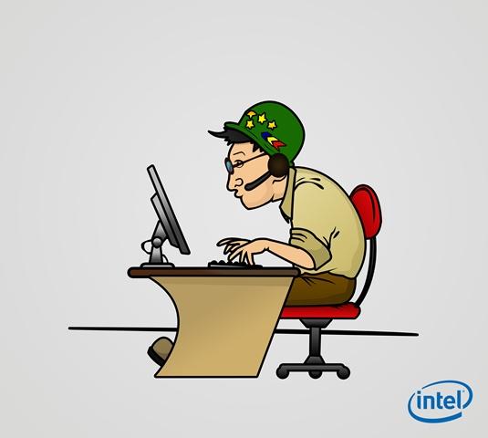 gamerul roman in viziunea Intel 4