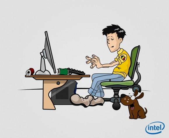 gamerul roman in viziunea Intel 5