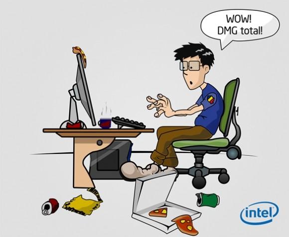 gamerul roman in viziunea Intel 6