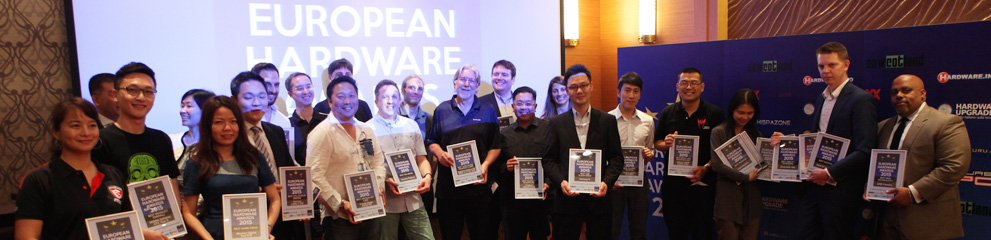 Decernarea European Hardware Awards 2015