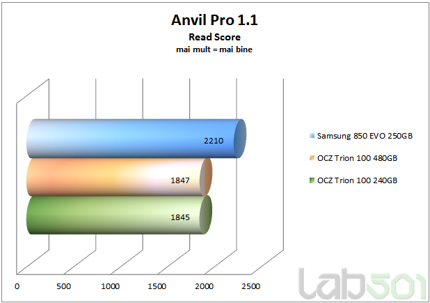 Anvil Pro 1.1 Read Score