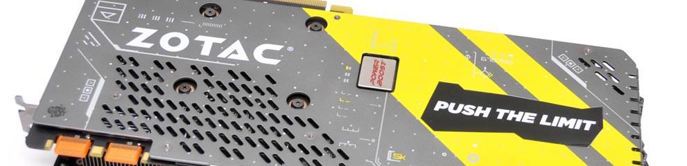 Review – ZOTAC GeForce GTX 1080 AMP Extreme