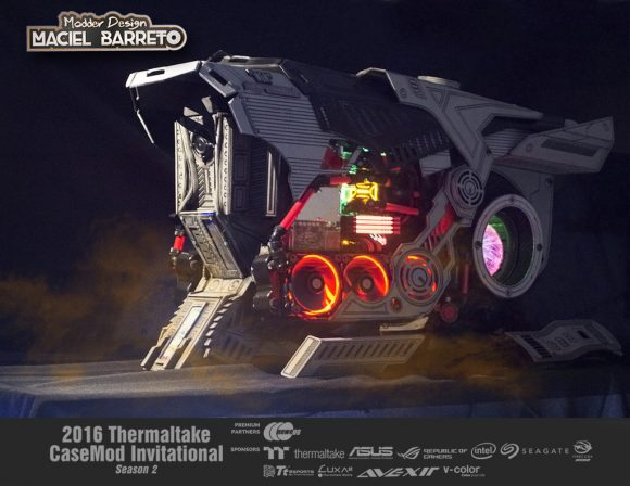 2016 Thermaltake CaseMOD Invitational Season 2_ Maciel Barreto's TT MYTRA_ 3rd Place_1