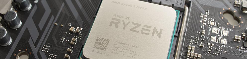 AMD Ryzen 7 1800X – Overclocking, DDR4 si NVMe