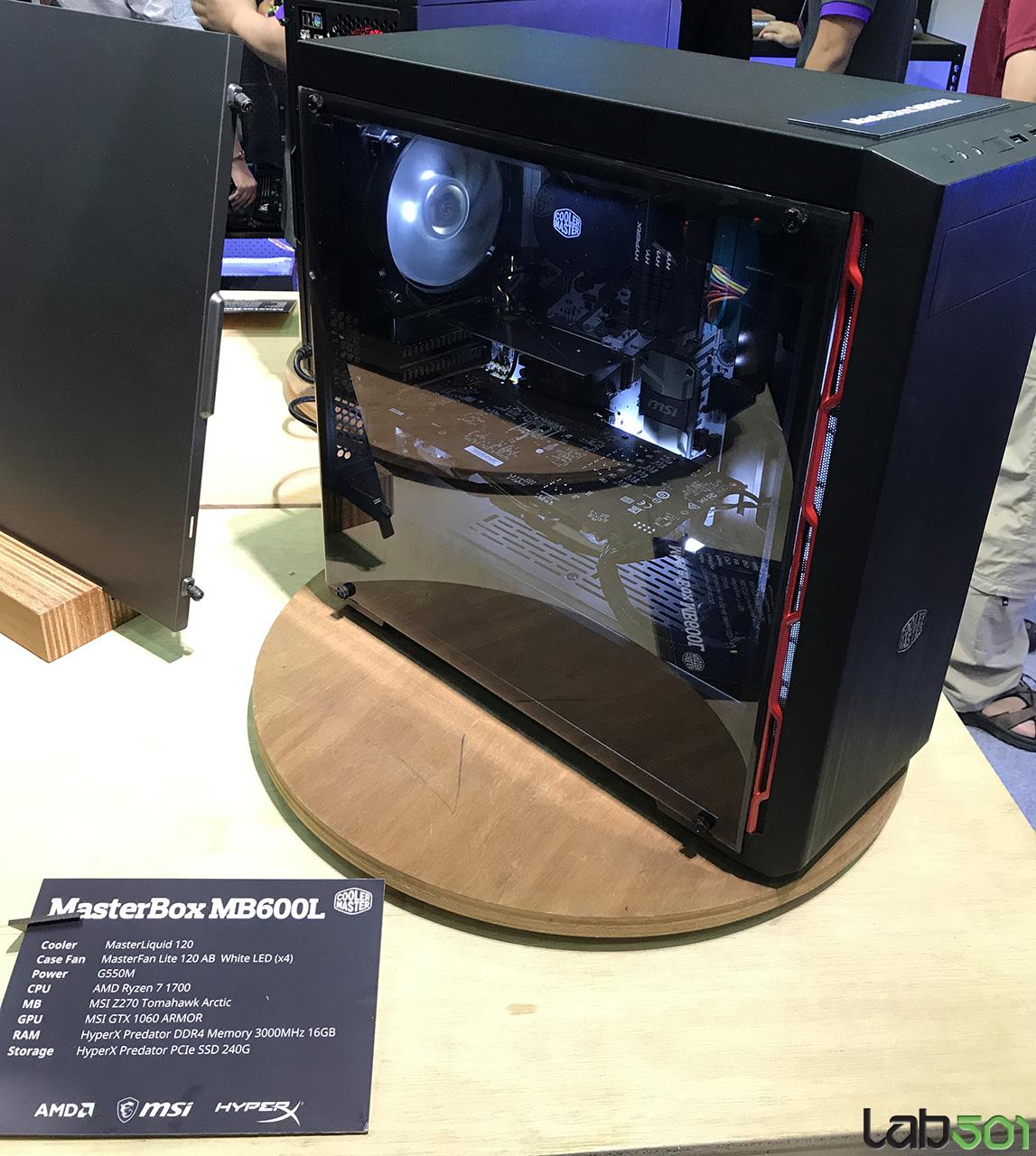 computex 2017 cooler master arata cosmos c700p si. Black Bedroom Furniture Sets. Home Design Ideas