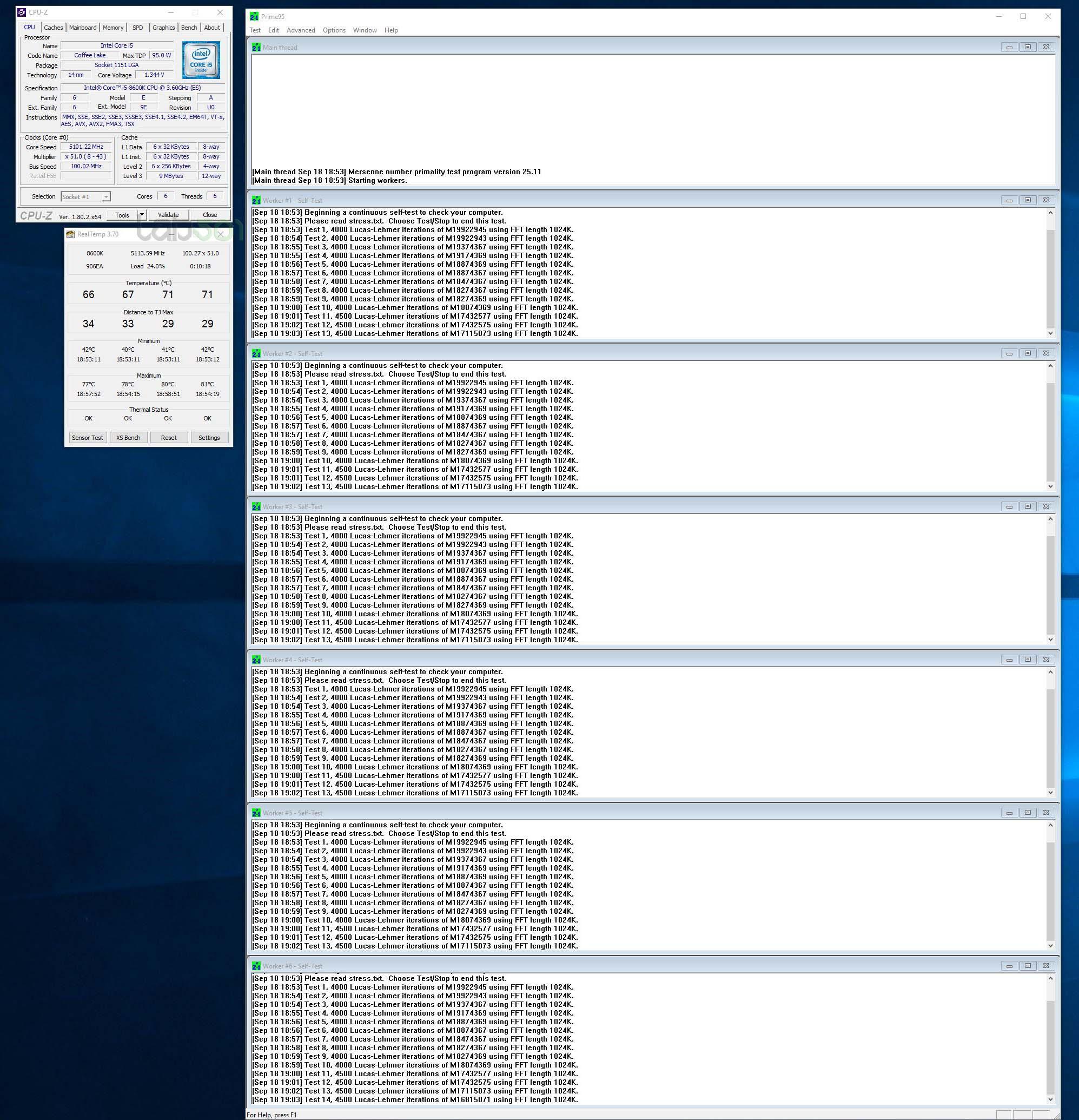 ENGLISH Review + new charts - Intel Core i7 8700K & Intel