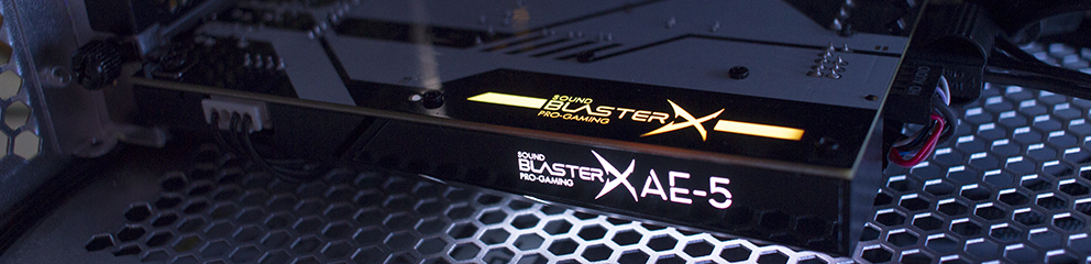 Review – Creative Sound BlasterX AE-5