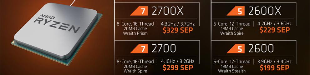 Pinnacle Ridge – AMD Ryzen 7 2700X  & AMD Ryzen 5 2600X – Part I – Reviewer's pa…
