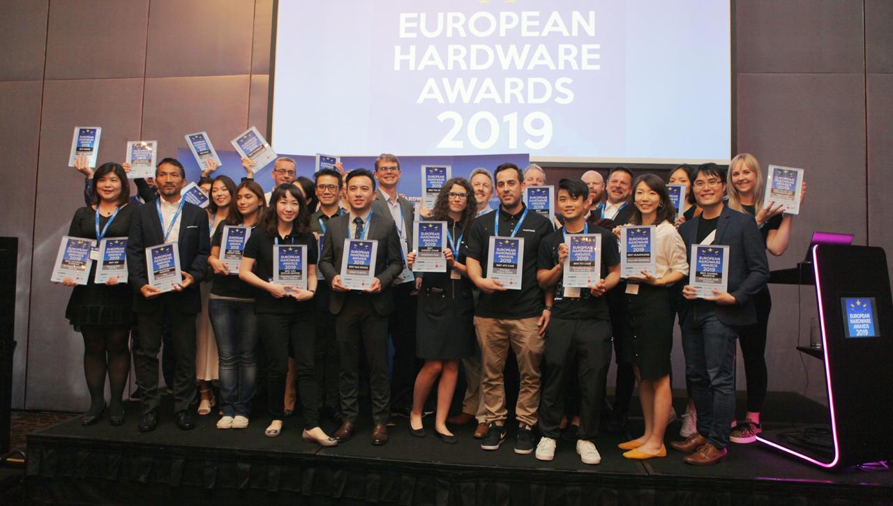 Decernarea European Hardware Awards 2019