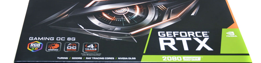 Review – GIGABYTE GeForce RTX 2080 SUPER Gaming OC 8G