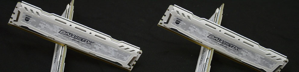 Review – Crucial Ballistix Sport LT DDR4 3200 CL16 2 x 16GB & 4 x 16GB – Micron …