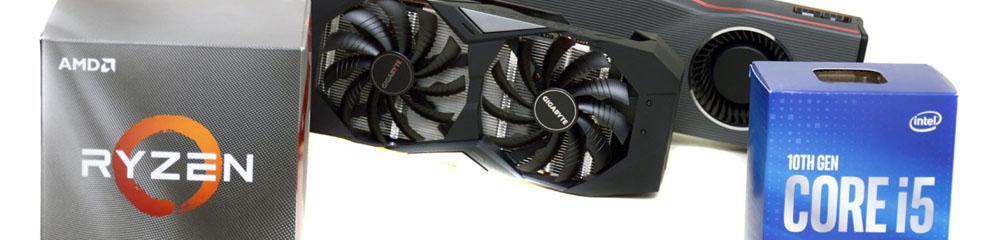 Mainstream gaming in 2020 – AMD Ryzen 5 3600X, Intel Core i5 10400, AMD Radeon R…