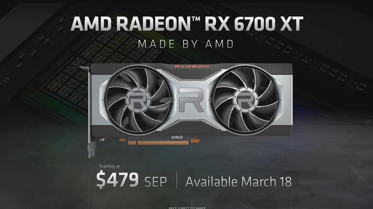 UPDATE – Un nou model din seria AMD Radeon RX6000 – AMD Radeon RX 6700XT se lans…